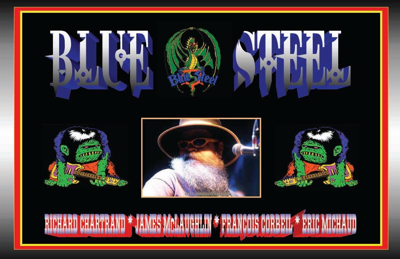 Poster Blues Steel